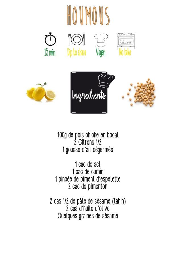 houmous ingrédients