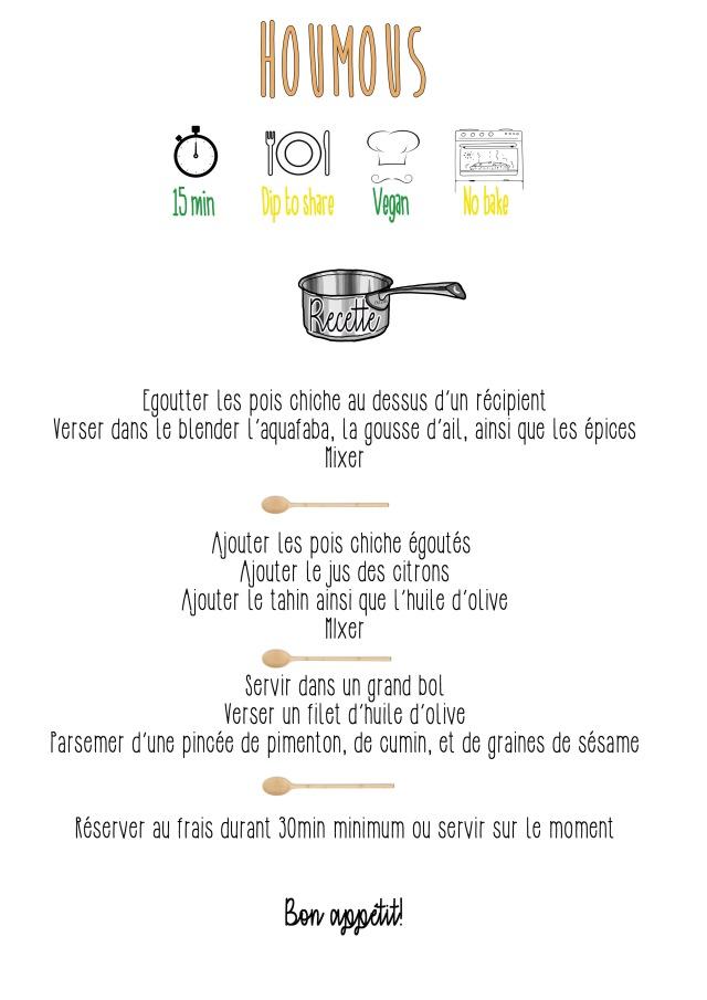 houmous recette